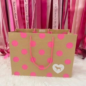 """VS PINK Paper Shopping Bag """"Collectible"""""""